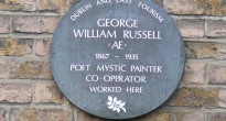 Curator Padraic E. Moore will talk about George Russell A.E., a visionary poet, mystic painter, theosophist and evangelist for the Co-operative movement.