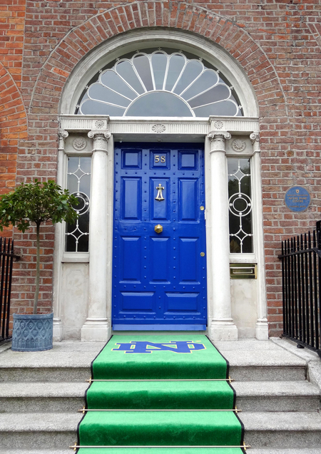 O Connell House Door Official July 2012 Merrion Square